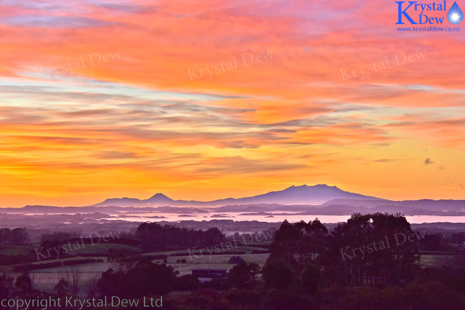 Sunrise Over Ruapehu