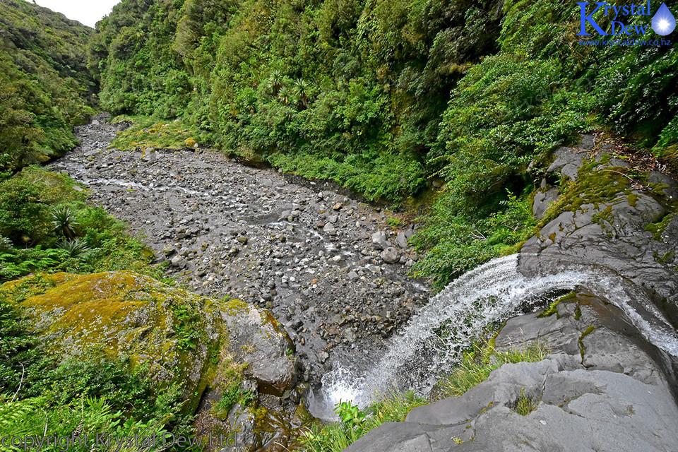 Waterfall on the Manganui River