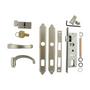 "Mortise Hardware Kit With Key And Deadbolt For 1-1/4"" Full Glass Storm Doors"