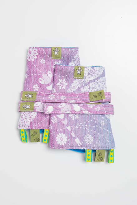 LennyLamb Teething / Drool Pads (Dragonfly Lavender)