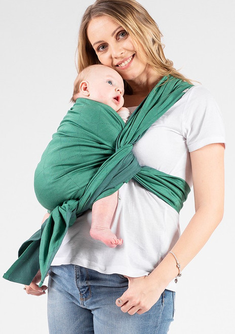 ISARA Woven Baby Wrap (Green Revolution) - size 6