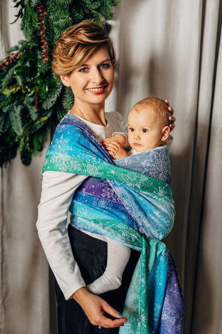 LennyLamb Woven Baby Wrap (Snow Queen Crystal) - LIMITED EDITION