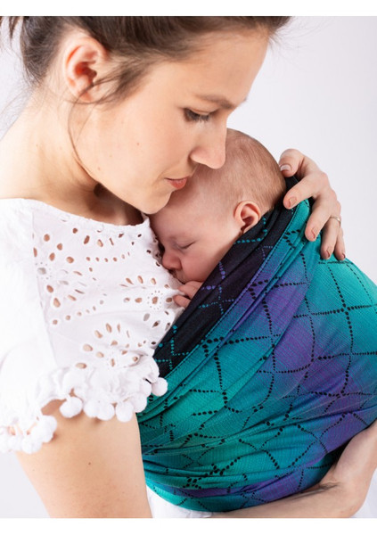 ISARA Woven Baby Wrap (Diamonda Northern Lghts) - size 6