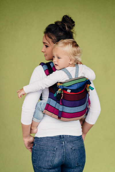 Lenny Buckle Onbuhimo Toddler Size (Carousel of Colours)