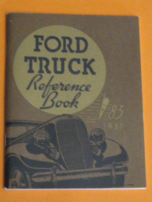 1937 FORD TRUCK Reference Book 64 pages high quality 1994 reprint FREE POST @ NR