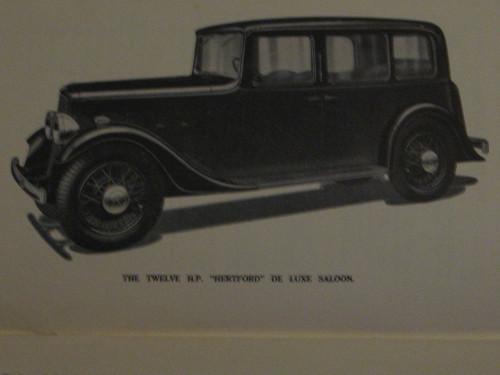 Austin Twelve or 12 original 1934 HANDBOOK 56 pages illust'd  FREE POST anywhere