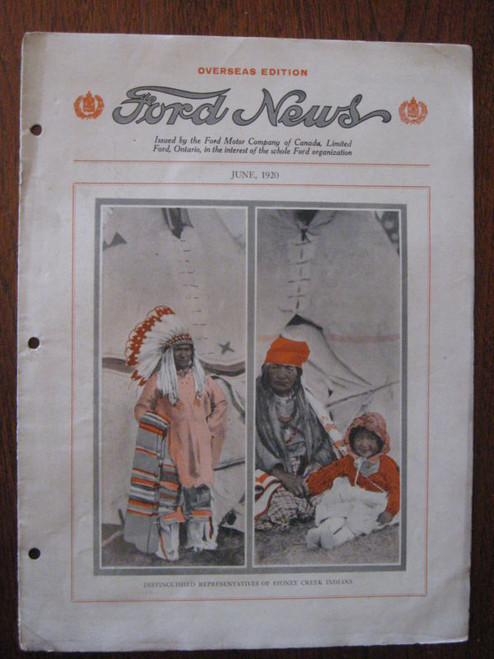 June 1920 'Ford News' RARE OVERSEAS EDITION, FREE POST!