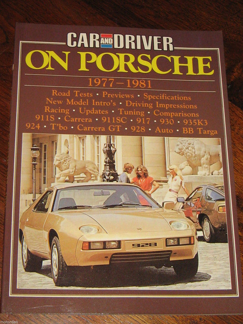 PORSCHE 1977-1981, 911 914 550 912 RSR Targa r/tests history NEW! FREE POST!