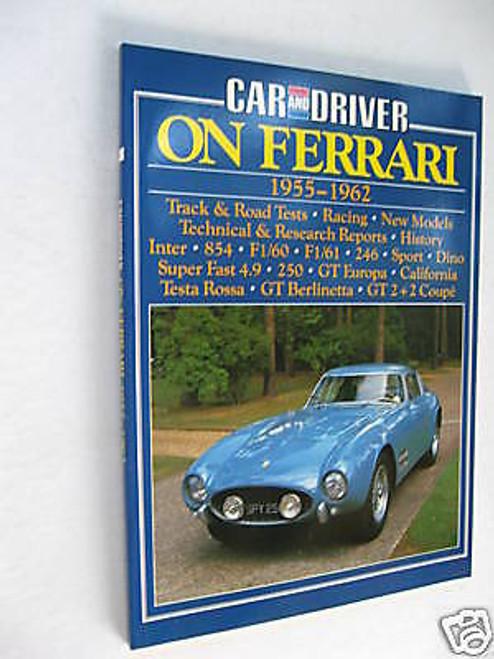 FERRARI 1955-1962 road tests Dino+Super Fast+Europa+California+250GT, FREE POST!