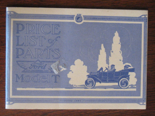 FORD Model T ILLUSTRATED 60 page PRICE LIST, FREE POST!