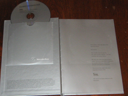 MERCEDES BENZ AUSTRALIA 2011 BOOK with DVD! quality promo package, FREE POST+NR!