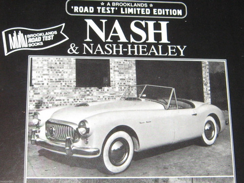 Nash & NASH HEALEY ROAD TESTS BOOK brand NEW! FREE POST
