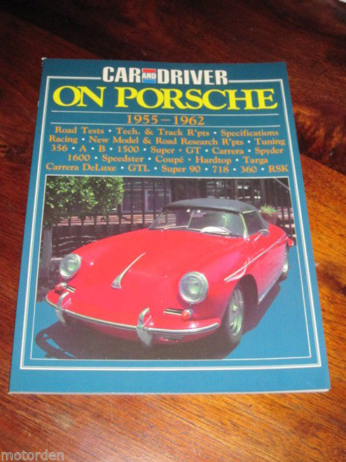 Porsche 1955-1962, 356 A B 1500 Carerra Spyder Speedster Super 90 RSK FREE POST!