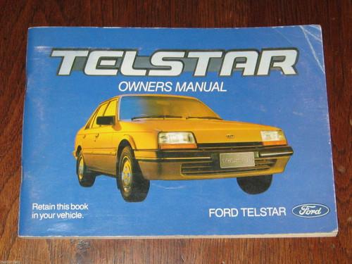TELSTAR Ford Australia OWNER MANUAL HANDBOOK 1982 UNUSED+UNMARKED, FREE POST!