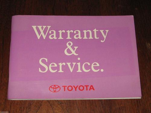 Toyota CAMRY 5S-FE & 3VZ-FE engines, 1993 Service Manual Australia, FREE POST