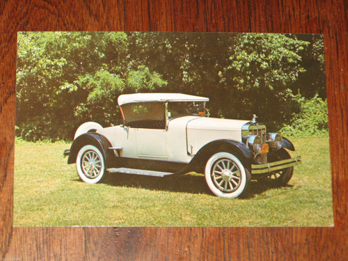 1926 FRANKLIN Series 11A old 1978 museum large swap or post card, Free Post