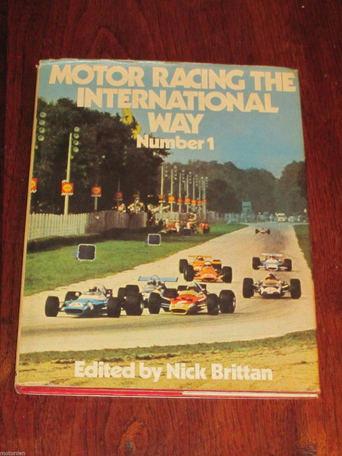1970 INTERNATIONAL MOTOR RACING BOOK, Jackie Stewart & Bruce McLaren, FREE POST!