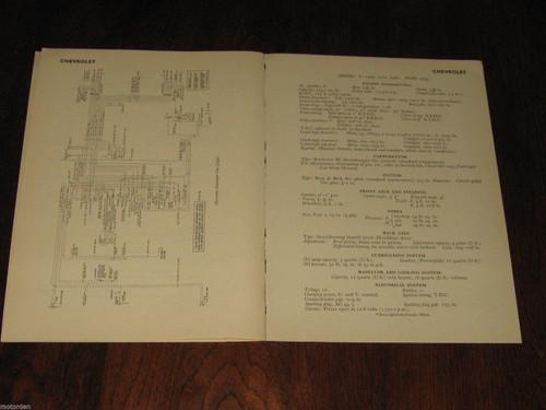 CADILLAC Commander 53, 60, 62, 75 1952-4 orig data+wiring diagrams on