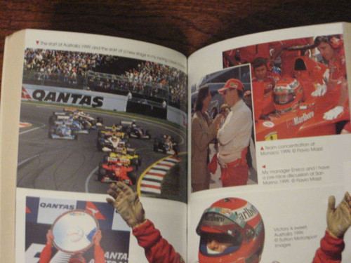 EDDIE IRVINE LIFE IN THE FAST LANE, 2000 BOOK, 248 pages illustrated, FREE POST