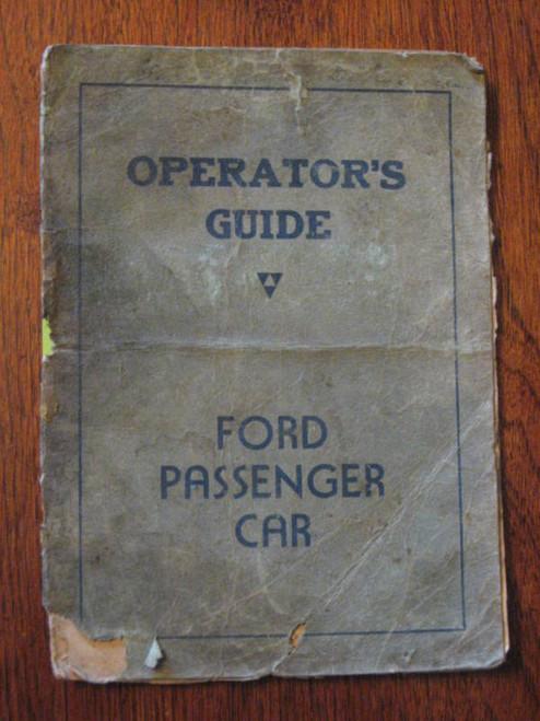 FORD+MONARCH DELUXE+SUPER 1947 OPERATOR GUIDE FREE POST
