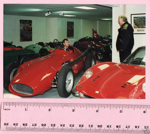 MASERATI 250F GRAND PRIX F1 CAR REAL PHOTO, FREE POST
