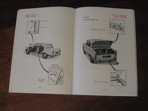 PEUGEOT 404 Instruct. Book 1970? ENGLISH lang FREE POST
