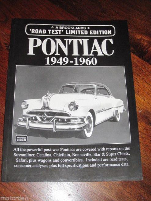 PONTIAC 1949-1960 Streamliner Catalina Chiefton Bonneville Star Safari FREE POST