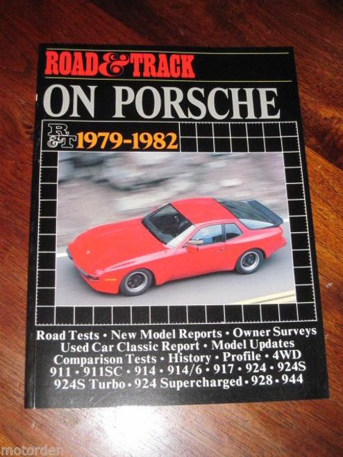 Porsche 1979-1982, 4WD 911 911SC 914 914/6 917 924 928 944 NEW BOOK, FREE POST!