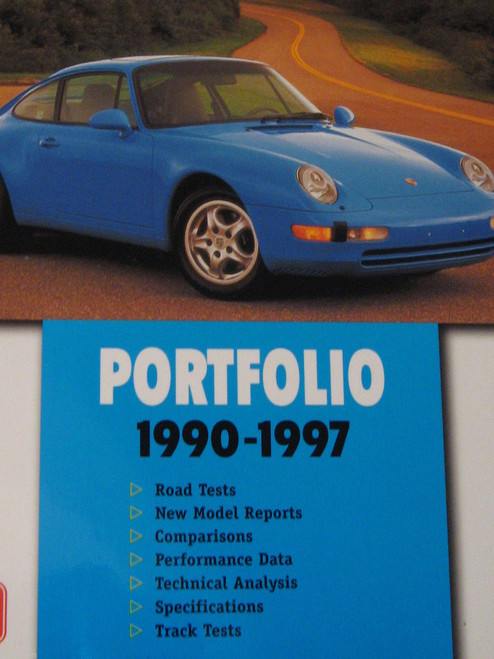 PORSCHE 911, 1990-1997 Carerra GTI Turbo 136pg r/tests history NEW! FREE POST