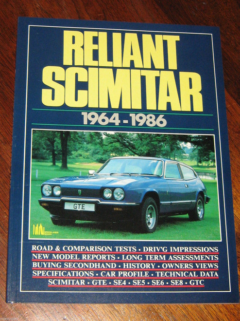 RELIANT SCIMITAR 1964-1986, GTE SE4 SE5 SE8 GTC r/tests history NEW! FREE POST!