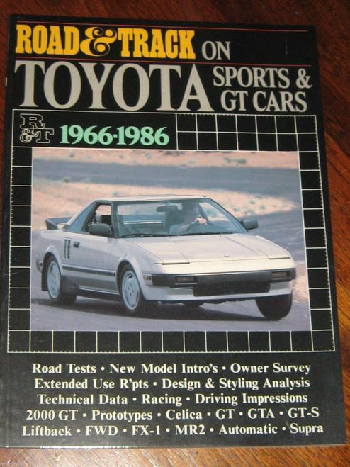 Scarce TOYOTA SPORTS+GT CARS 1966-1986 2000GT Celica GTA MR2 SUPRA NEW+FREE POST
