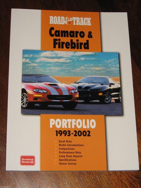 Scarce? CAMARO & FIREBIRD 1993-2002 illustrated in colour 136pgs NEW! +FREE POST