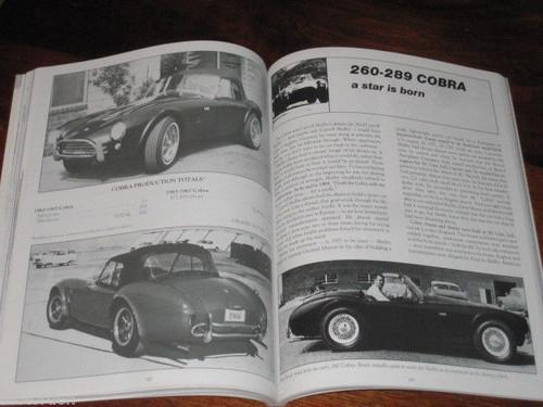 SHELBY COBRA 1962-1969 road tests+specs+data+history+Daytona 172pgs, FREE POST!