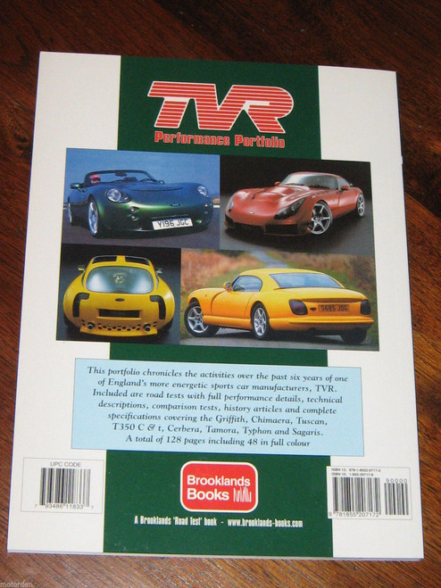 TVR 2000-2005 Tuscan Chimaera Cerbera Griffith Tamora Typhon NEW!!! FREE POST