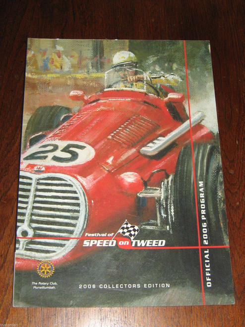 2006 SPEED ON TWEED program, large format 56pp illustrated in color, FREE POST