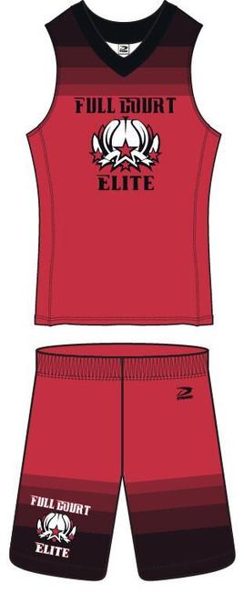 """""""Dunk"""" Men's Basketball Uniform"""