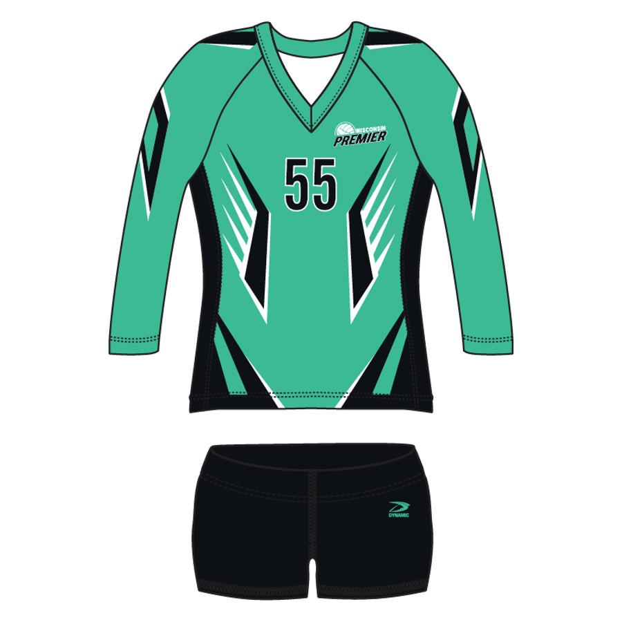 """""""Blocker"""" Women's Volleyball Uniform"""