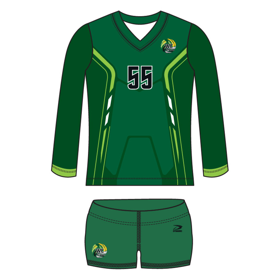 """Bump"" Women's Volleyball Uniform"