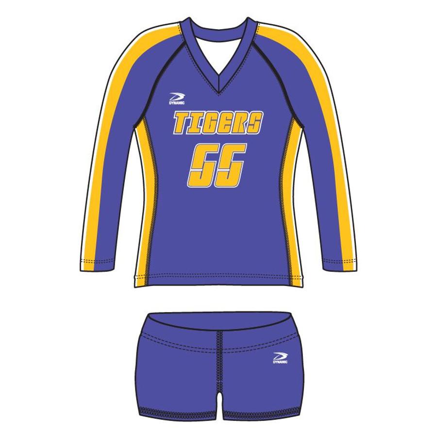 """""""Net"""" Women's Volleyball Uniform L/S"""