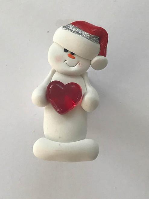 Sweet Heart Snowperson