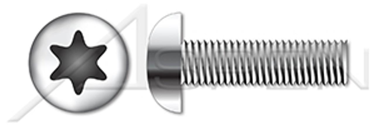 18-8 Stainless Steel Thread Locking Precision Shoulder Screw Thread Size M8-1.25 FastenerParts