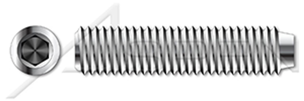 3 1//2-13x2-1//2 Hex Socket Set Screws Cup Point Alloy Steel