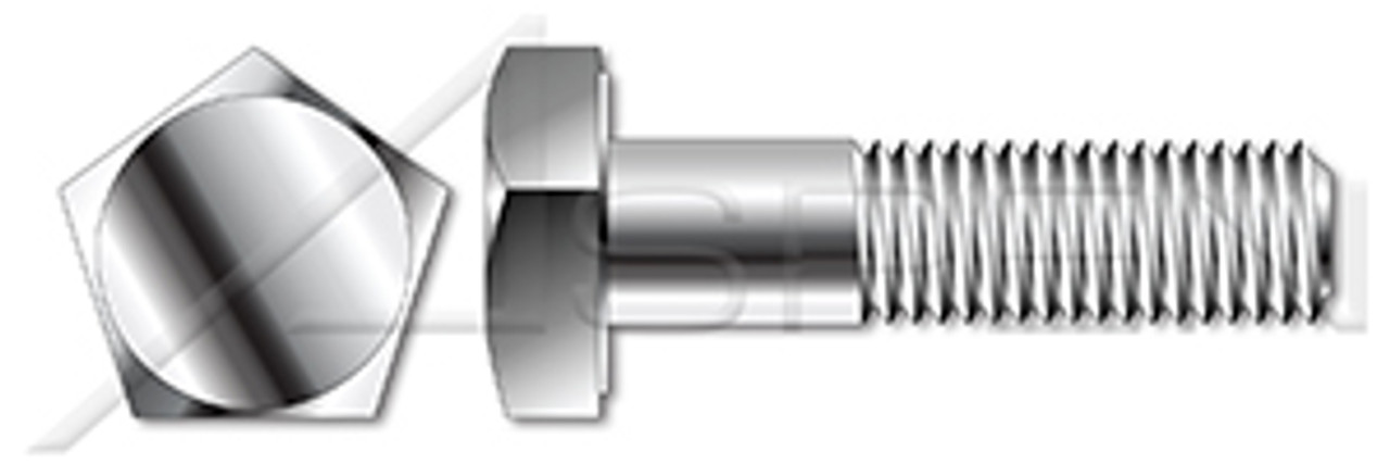 """1/2""""-13 X 1"""" Tamper Resistant Penta Head Security Bolts, AISI 304 Stainless Steel (18-8)"""