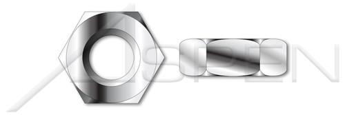 #10-24 Hex Machine Screw Nuts, 18-8 Stainless Steel