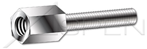 """#4-40 X 7/16"""" Jack Screws, AISI 303 Stainless Steel (18-8)"""