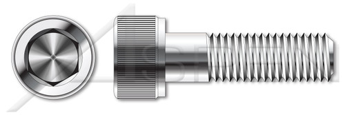 M24-3.0 X 45mm Socket Cap Screws, Hex Drive, DIN 912 / ISO 4762, A4-80 Stainless Steel