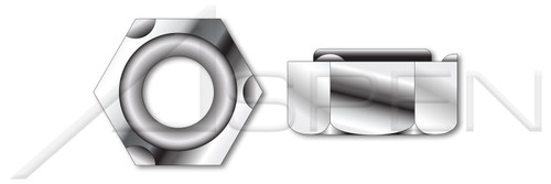 M10-1.5 DIN 929, Metric, Hex Weld Nuts, A2 Stainless Steel