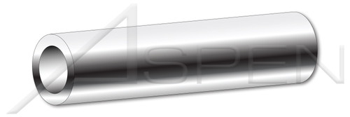 """#10 X 1"""" Round Spacers, 3/8"""" Diameter, AISI 304 Stainless Steel (18-8)"""