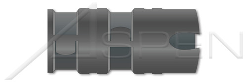 "3/8""-16 X 1-1/2"", Hole Dia.=3/4"" Expansion Shield Anchors, Single Expansion, Zamac Alloy"