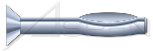 "1/4"" X 4"" Split Drive Anchors, Flat Countersunk Head, High Alloy Steel, Zinc"